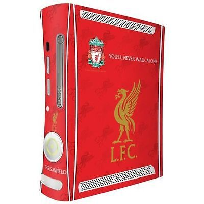 Official Licensed Football Club Liverpool Xbox 360 Console Skin Red Gift Fun New