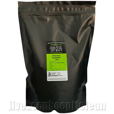 Honest To Goodness - Certified Organic Spirulina Powder - 1KG