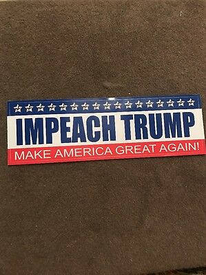 Impeach Trump - Make America Great Again!  Sticker