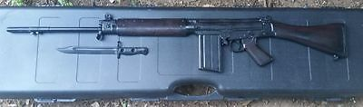 RESIN replica L1A1SLR  plaque display kit - full length/ half sided.. Man Cave