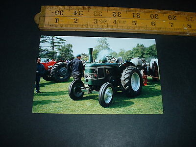 Old  Photo Vintage Tractor Combined Postage  (R18