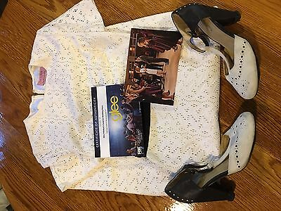 GLEE SCREEN USED Will & Emma's Surprise Wedding Dress FOX STUDIO COA