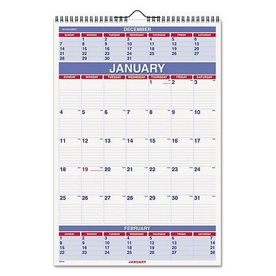 At-A-Glance 2018 3-Month Wall Calendar - PM628