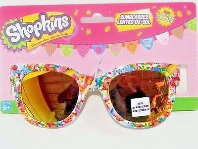 New Shopkins 100 % UV Protection Sunglasses Ages 3+  Girls