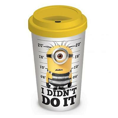 Official Licensed Product Despicable Me 3 Ceramic Travel Mug Minions Cup Gift