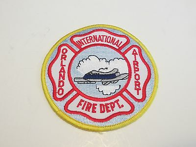 Orlando International Airport Fire Department Patch