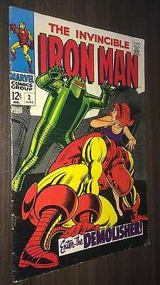 IRON MAN #2 -- June 1968 -- VG/F Or Better