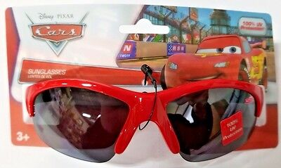 Disney Cars Kids 100 % UV Protection Sunglasses Ages 3+  Boys Red & Black