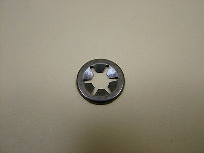 Starlock star lock push-on washer for shafts M4 pack 10,retain wheels toys/prams