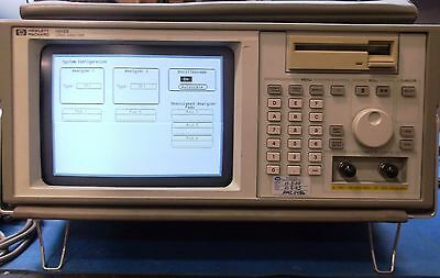 HP 1652B B/W Portable Logic Analyzer / Scope With Accessories Used