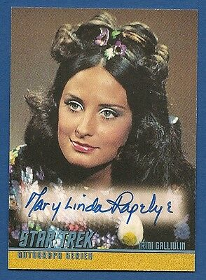 STAR TREK Original Series -MARY-LINDA RAPELYE- Limited Edition A97 Auto card