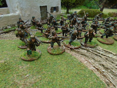 Fallschirmjäger INFANTRY  BOLT ACTION WARLORD  WORLD WAR 2  PAINTED TO ORDER