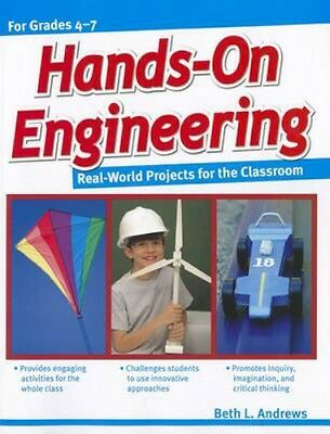 NEW Hands-On Engineering by Beth Andrews BOOK (Paperback / softback) Free P&H