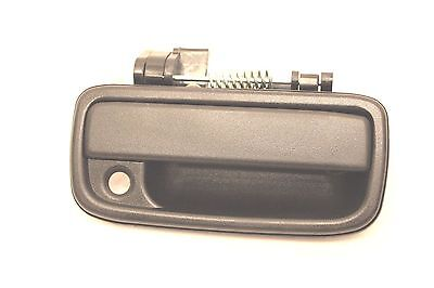 Black Outside Outer Front Right Passenger Door Handle 1995-2004 Tacoma Dlx