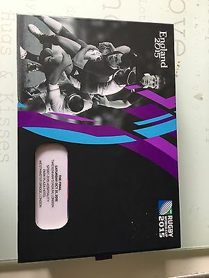 2015 Rugby World Cup Final. England v N Zealand Ticket and Hospitality VIP