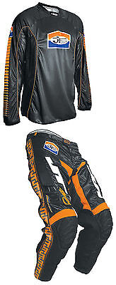 JT Racing USA™ Pro Tour Jersey and Classick MX Pants - Black/Orange Combo