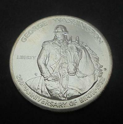 USA 1982 D Silver George Washington 50c Half Dollar Coin Brilliant Uncirculated