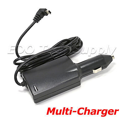 DC Car Charger Auto Power Adapter For Rand McNally Intelliroute TND 520 LM GPS