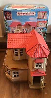 Sylvanian Families Willow Hall Building With Original Box, SPARES/STARTER House