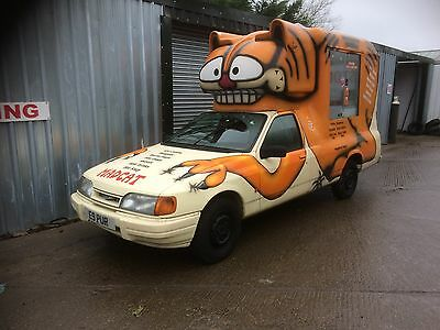 ice cream van re listed due to a 10 year old boy bought it  on his dads account