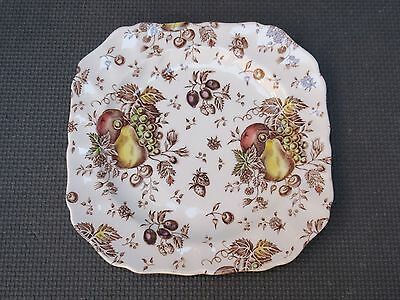 """Johnson Brothers AUTUMN'S DELIGHT 7 5/8"""" Square Salad Plate"""