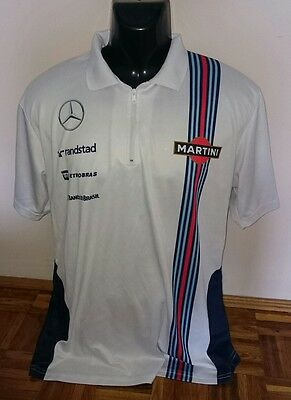 Williams Martini Racing Team Replica Performance T-Shirt XXL Jersey
