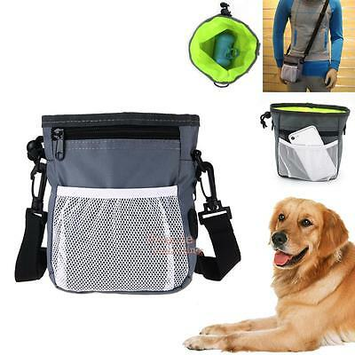 Pet Dog Training Treat Snack Bait Agility Outdoor Pouch Food Storage Holder Bag