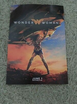 Original Wonder Woman Movie Poster