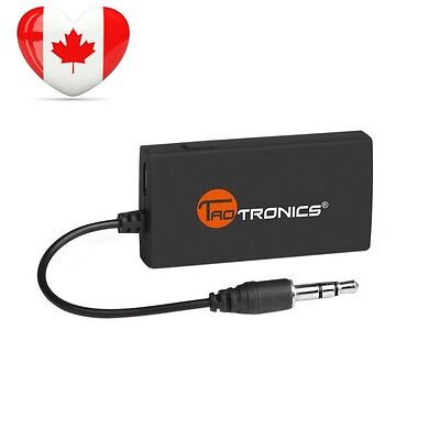 Bluetooth Transmitter, TaoTronics Wireless 3.5mm Audio Adapter for Non TV,...