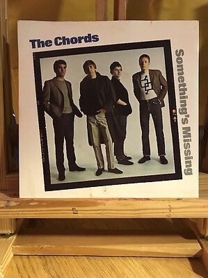 "The Chords ‎– Something's Missing - 7"" UK 1980 Mod"