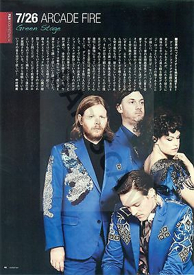 Arcade Fire - Clippings From Japanese Magazine Rockin'on 2014
