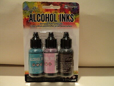 TIM HOLTZ Adirondack Alcohol Ink 3 Pk 'RETRO CAFE' BNIP **LOOK**