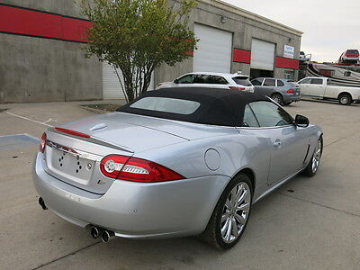2010 Jaguar XKR XKR Convertible-Supercharged 4.9LV8 2010 Jaguar XKR convertible-supercharged wrecked rebuildable  Low reserve
