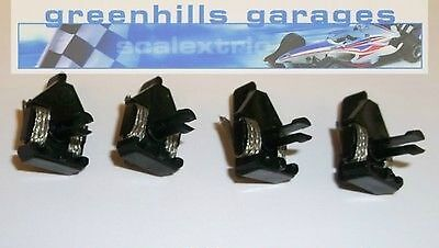 Greenhills Scalextric Parts Pack Standard Long Stem Guide Blades Type 30 x 4 ...