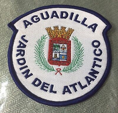 Puerto Rico Police Patch...municipal Police Of Aguadilla