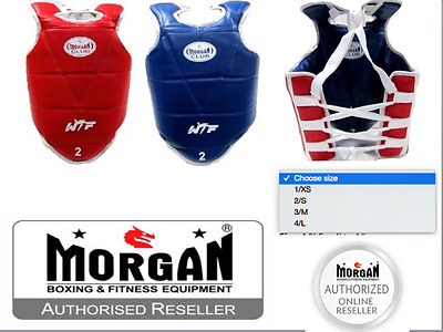 WTF OLYMPIC chest guard RED BLUE REVERSIBLE 1234 XS S M L Taekwondo TKD BODY NEW