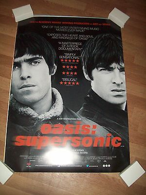 Oasis Supersonic movie poster one 1 sheet Liam Noel Gallagher