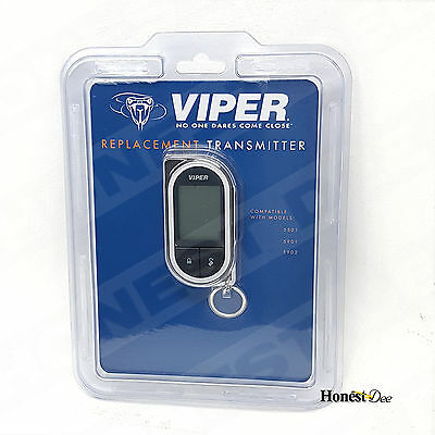 NEW Viper 7752V 2-Way 5 Button LC3 / HD LCD Responder Replacement Remote Control