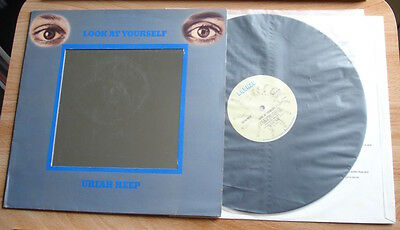 Uriah Heep Look At Yourself Lp 71 Uk Bronze 1St Press A1B1 Porky Unsplit Inner