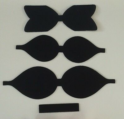 Double Loop Plastic Bow Template