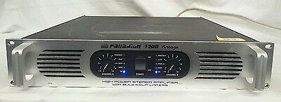 DAP Audio Palladium 1200 vintage Amplifier
