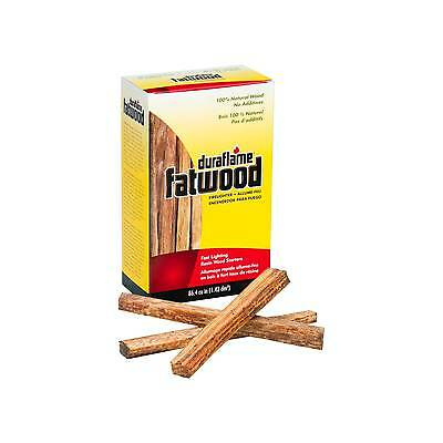 Lot of 4 Duraflame Fatwood  Fast Lighting Resin Wood Starters