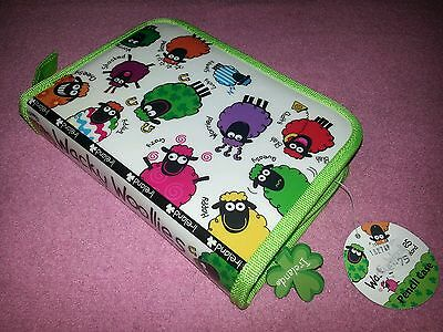 Wacky Woollies Ireland Colorful Sheep Pencil Case Markers & Colored Pencils NWT