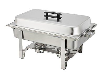 Winware 8 Qt Stainless Steel Chafer, Full Size Chafer, No Tax, Free Shipping