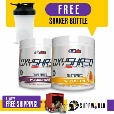 OXYSHRED EHPLabs Oxyshred Best Selling Fat Burner Weight Management - TWIN PACK