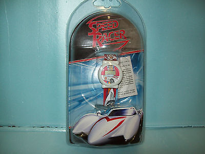 Collectible New In Package Speed Racer Watch With Adjustable Mach 5 Watch Band