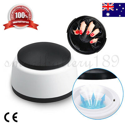 Pro UV Gel Polish Remover Nail Cleaner Steam Off Gel Removal Machine Beauty AU