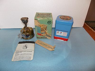 Vintage Optimus 80 camp stove, complete in box used once