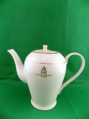 Queens Golden Jubilee Coffee  / Tea Pot