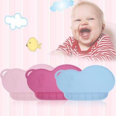 Plate Silicone Placemat Baby Suction Feeding Kids Tray No Bpa Place Mat New Jian